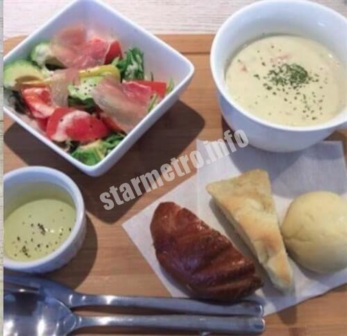 自家製スープと自家製パンのBランチ