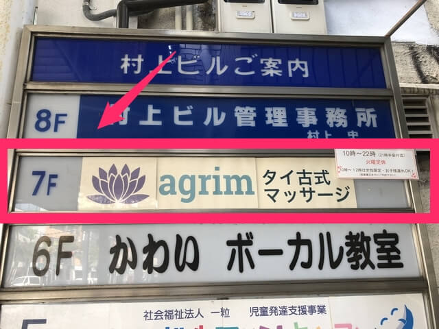 アグリムは7F