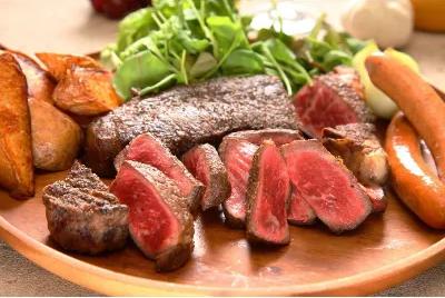 ロースステーキ600g(岩塩付き)【国産牛熟成肉】