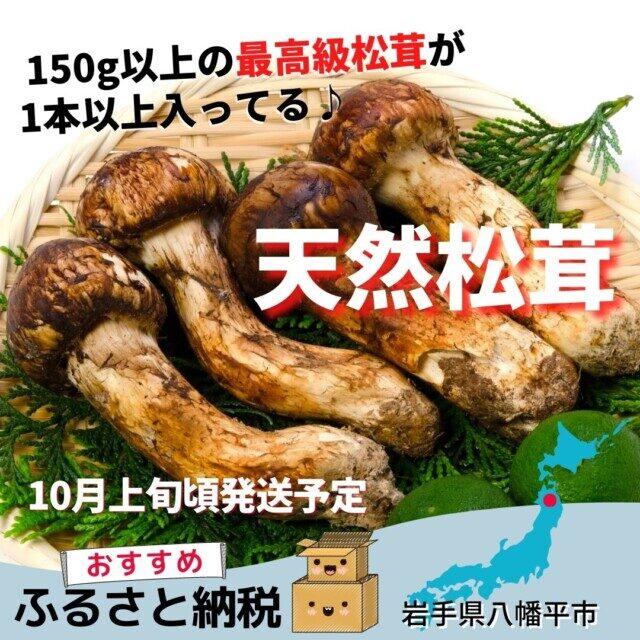岩手県八幡平市のふるさと納税人気返礼品TOP1位 松茸