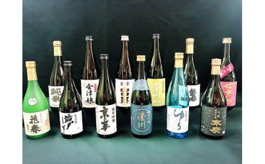 1位 会津清酒6本セット 寄付額:3万円