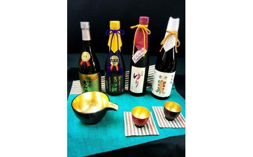9位 会津清酒金賞酒3本と晩酌セット 寄付額:10万円