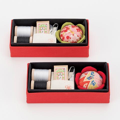 【ふるさと納税】花おはりこ(裁縫セット)