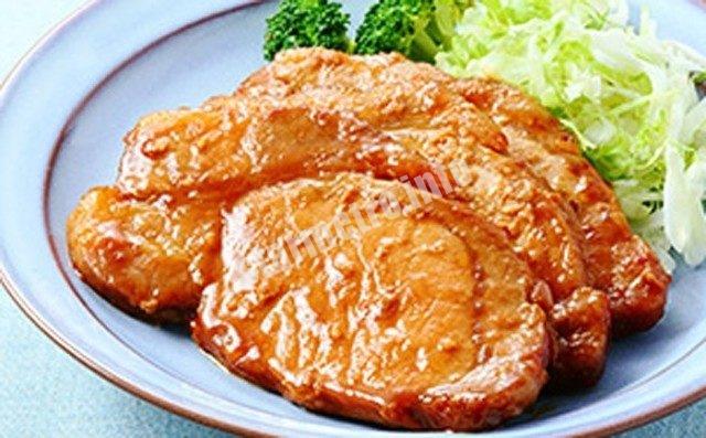 秋田県仙北市産 αリノレン酸虹の豚 モモ味噌漬け 15枚入り