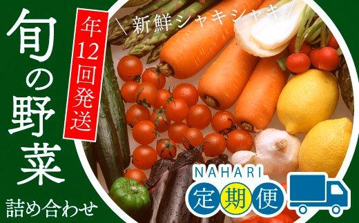 旬の野菜詰め合わせコース(年12回 毎月発送)
