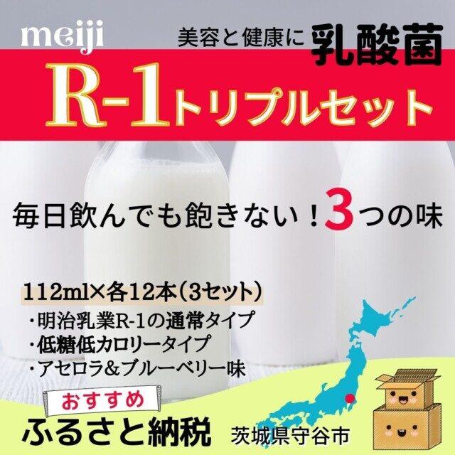 茨城県守谷市のふるさと納税人気返礼品TOP4位 R-1トリプルセット