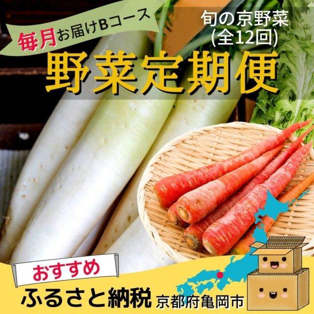 京都府亀岡市のふるさと納税人気おすすめ返礼品8位野菜定期便