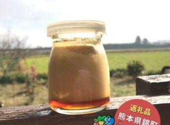 ふるさと納税レビュー|熊本県錦町の2秒でとろける「にしきプリン」を食べてみた