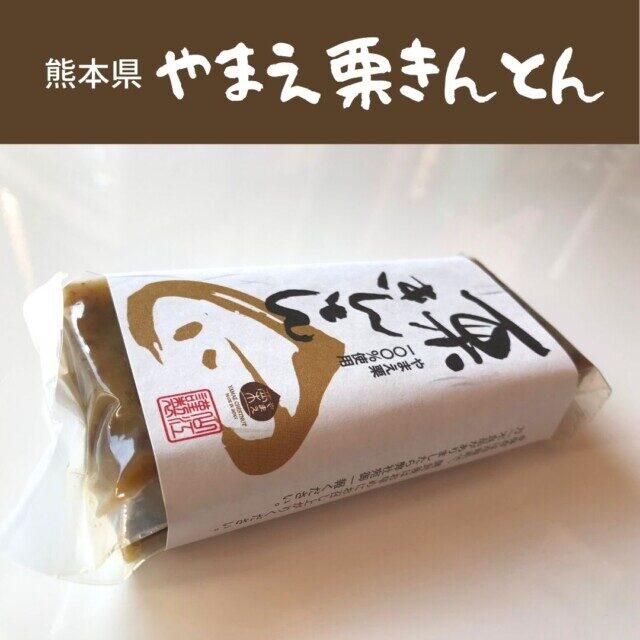 熊本県人吉市のふるさと納税返礼品 ブランド栗で作った「やまえ栗きんとん」を食べてみた